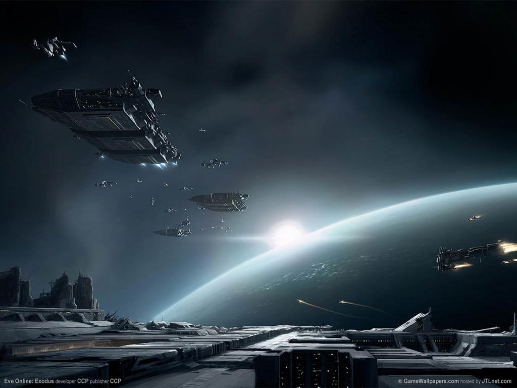 Eve online exodus mmog